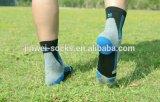 安いカスタムロゴの足首の昇華はソックスを日に晒す綿を遊ばす