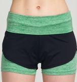 Alti Shorts di sport degli abiti sportivi di usura di yoga delle signore di modo della vita