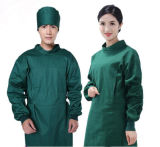 O costume que lava a roupa Sleeves brevemente a Anti-Roupa cirúrgica do doutor Uniforme Escovadela Bolsa Isolação da roupa do algodão longo das luvas