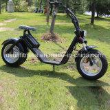 Motocicleta eléctrica de la vespa del neumático gordo con la potencia 1000W