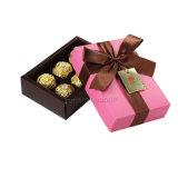 Contenitore di regalo su ordinazione di lusso all'ingrosso del cioccolato del cartone del documento di marchio