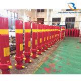 Fabricante del cilindro hidráulico del carro de vaciado de 50 toneladas