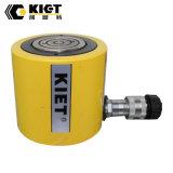 Cylindre hydraulique mince à simple effet bon marché de 50ton Kiet