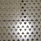 engranzamento perfurado galvanizado furo do metal de 1mm