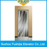 ロード1000kgミラーのステンレス鋼が付いている贅沢な乗客のエレベーター