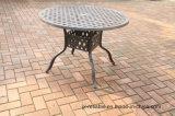 """庭の鋳造アルミ48の""""円卓会議の家具"""