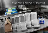 Lámina de Hogares de aluminio 8011-O para el empaquetado de alimentos