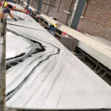 De witte Marmeren Tegels van de Vloer met Opgepoetste Oppervlakte voor Binnenhuisarchitectuur