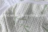 Protetor de bambu ultra macio do colchão da ucha impermeável da fibra de bambu de rayon