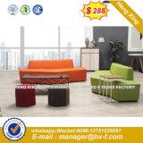 黒い革ソファーの現代ホーム家具(HX-SN8011)