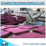 De industriële CNC Automatische Textiel Scherpe Machines van de Zak met Naaimachine