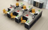 Oficina de melamina de alta calidad de la partición de la estación de trabajo para 10 personas (SZ-WST642)