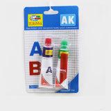 Pegamento de epoxy 20g del Ab del Mini-Embalaje de 5 minutos