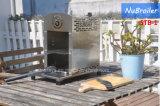 Gril sans fumée autonome de gaz d'Infared pour le gril léger extérieur de BBQ de rendement de jardin de restaurant