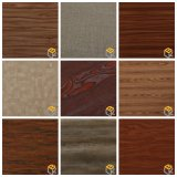 Grain du bois d'érable papier décoratif pour les meubles en provenance de Chine