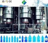 Totalmente automático de la planta de llenado de agua mineral.