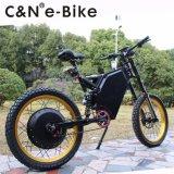 セリウムの電気バイクが付いている72V 8000W山のEbikeの強力な電気自転車