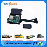 Sistema de Seguimiento en vivo de RS232 GPS vehículo Tracker con los sensores de choque