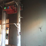 Macchina adesiva automatica dell'intonaco dello spruzzo per la parete