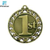 Medalla de los deportes de la aduana de la venta al por mayor de la fábrica de Pinstar 1ra 2da 3ro