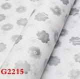 Tissu de mur de PVC, papier peint de PVC, PVC Wallcovering, papier de mur, tissu de mur, parquetant la feuille, roulis d'étage, papier peint