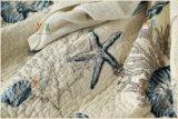 Un assestamento stabilito personalizzato di 3 parti con i cuscini ed il copriletto di trapunta