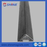 Lato magnetico d'acciaio di smusso 20X20mm di figura del triangolo singolo per la cassaforma del calcestruzzo prefabbricato