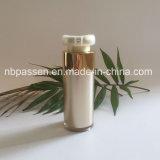 frasco acrílico da loção do ouro 30ml luxuoso com bomba mal ventilada (PPC-NEW-181)