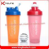 Protein-Schüttel-Apparateignung der Gymnastik 20oz sports Flaschenintelligente Schüttel-Apparatflasche der Großhandelsschüttel-apparatcupflasche