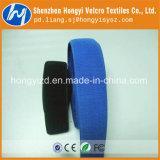 Correas de Nylon elástico Vlecro coloridos con hebilla de plástico