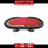 Ovaler Erzeugungs-Aufsteigen-Kasino-Tisch der Platte-Fuss-2 (YM-TB017)