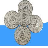 27мм цинкового сплава металлические монеты маркера