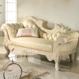 Sofá de tela / chaise lounge (98B)