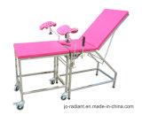 Le matériel chirurgical de gynécologie obstétrique lit de table d'examen de livraison