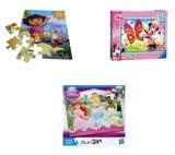 Mieux vendre Cartoon papier 3D de jouets pour enfants Jigsaw Puzzle avec impression personnalisée