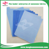 L'armoire, placard de tissu utilisé TNT Tissu Tissu PP polypropylène rouleau