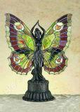 Mariposa Lámpara Tiffany Arte (939)