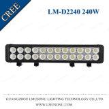 La pulgada caliente 240W de la venta 20.5 de Lmusonu impermeabiliza la barra ligera LED del punto campo a través de la lámpara