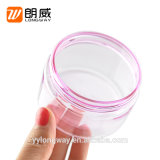 販売法100gのピンクカラー顔マスクのための大きい口ペット瓶を指示しなさい