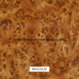 車の部品および毎日の使用Bds28031-1のための1mの幅のHydrographicsの印刷のフィルムの木パターン