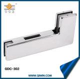 Encaixe de vidro de Pacth da porta do aço inoxidável 304 de vidro da braçadeira do canto da ferragem (GDC-302)