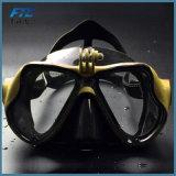 Anteojos calientes de la natación del tubo respirador del equipo de submarinismo de la máscara del salto de la máscara del soporte de la cámara