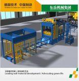 машина для формовки бетонных блоков, кирпичный завод, Бетонное машины (QT10-15)