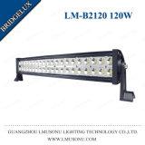 Double pouce 12V de la rangée 120W 24.5 de Lmusonu imperméabilisent la barre tous terrains de la lumière DEL