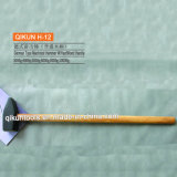 H-12 строительного оборудования ручного инструмента из твердых пород дерева немецкого типа, Machinist рукоятки молотка