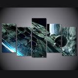 HD напечатало холстину Mc-017 изображения плаката печати декора комнаты печати холстины картины звездных войн сокола тысячелетия