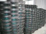 '' orlo d'acciaio della rotella di gomma solida della polvere 13 per i carrelli