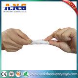 Modifica della lavanderia del tessuto RFID cucita sull'indumento dei pantaloni del lenzuolo dei vestiti