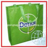 Le PET recyclé des sacs de magasinage/ sacs recyclables (ENV-PET010)