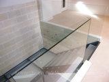 Diseño moderno y todas las escaleras de vidrio escaleras de vidrio para Salón